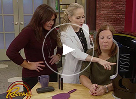 VISIA used on the Rachael Ray show to demonstrate eyelash length and volume gain