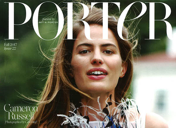 Porter Magazine Reports on VISIA Fall 2017