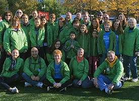 Canfield Team Walks to Find a Cure for Lung Cancer