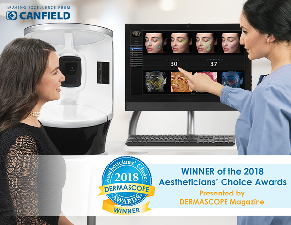 VISIA® Complexion Analysis System Wins 2018 Aestheticians' Choice Awards